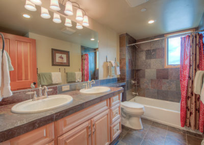 12 Hackamore upstairs hall bath